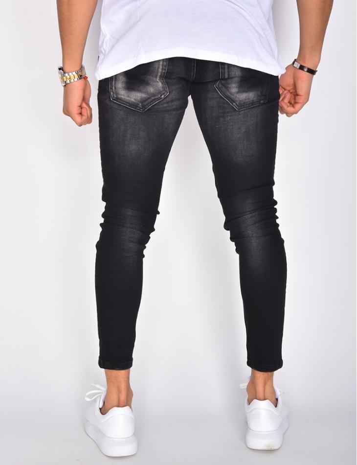 Jeans skinny délavé