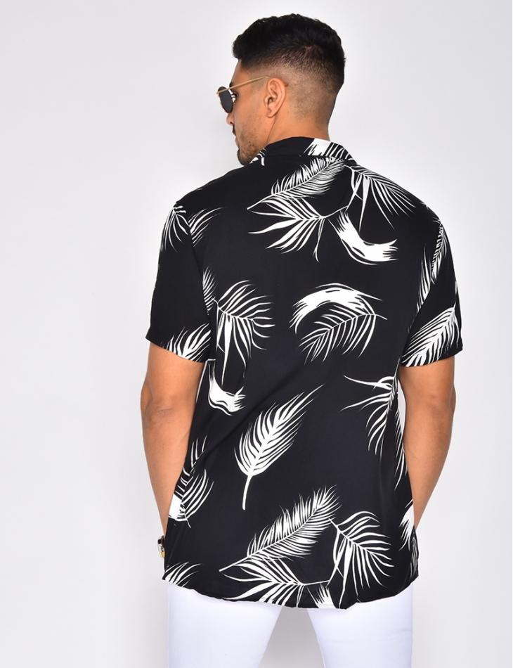Chemise homme à motifs