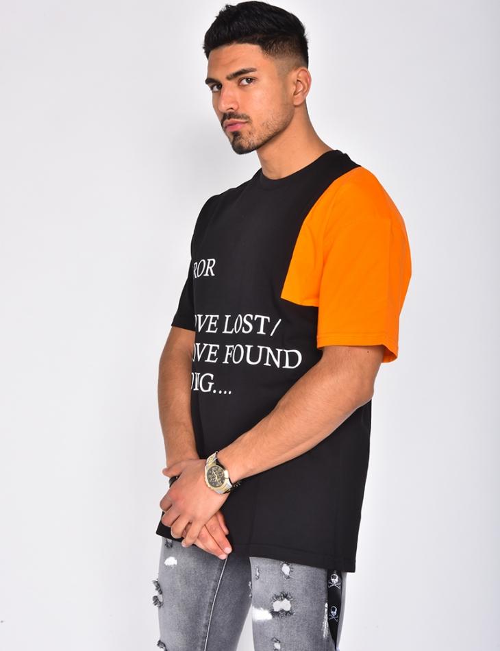 T-shirt à écritures
