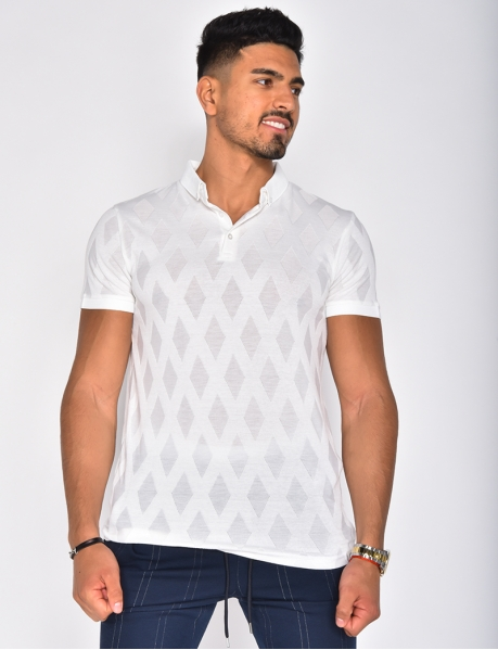 Diamond Polo Shirt