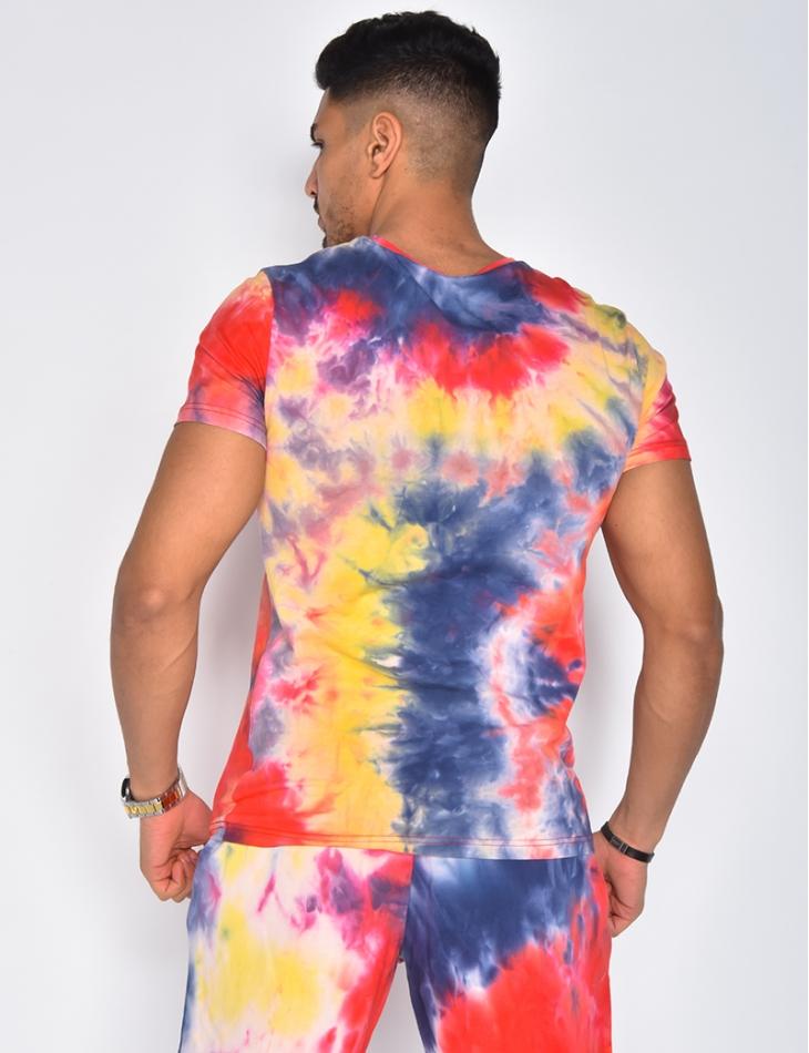T-shirt à taches