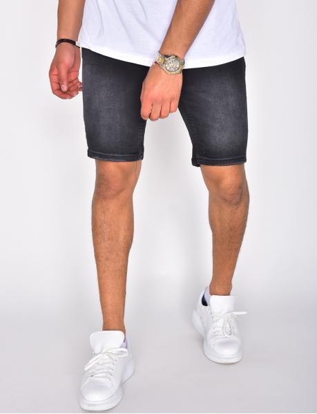 Men's Denim Bermuda Shorts