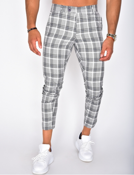 Men's Checked Trousers
