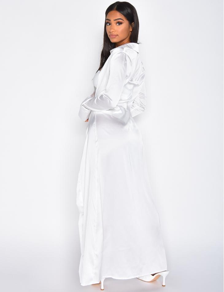 Robe longue fluide