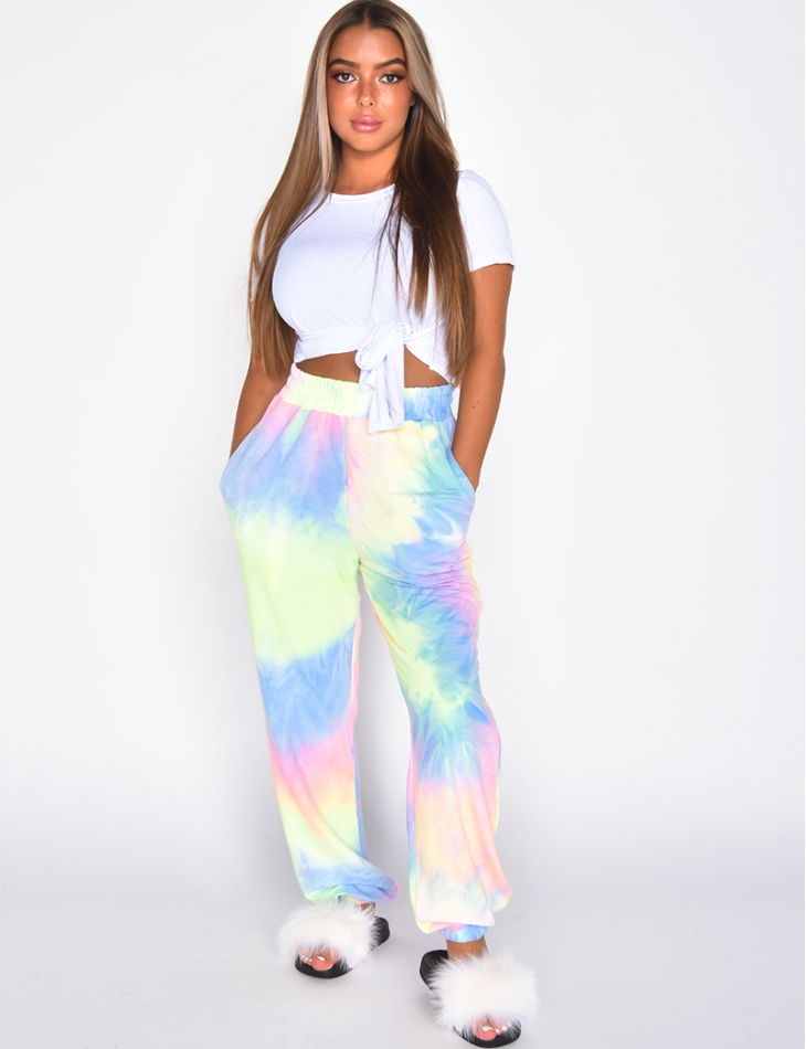 Pantalon de jogging multicolor