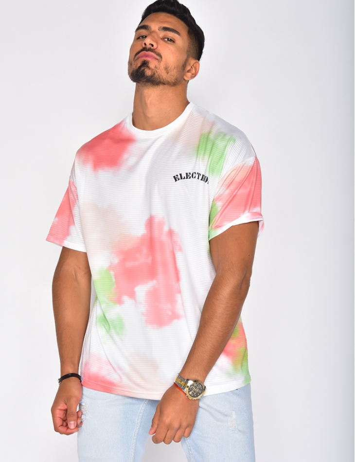 T-shirt oversize Tie and Dye