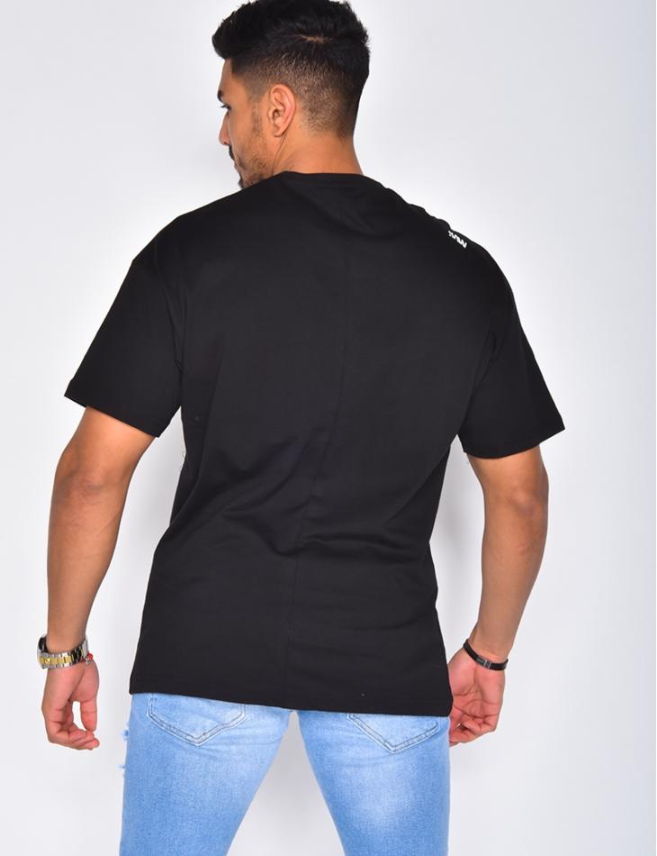 "Oversized ""SAW"" T-shirt"