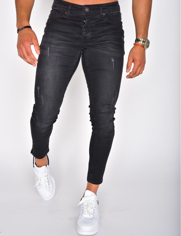 Jeans noir basique