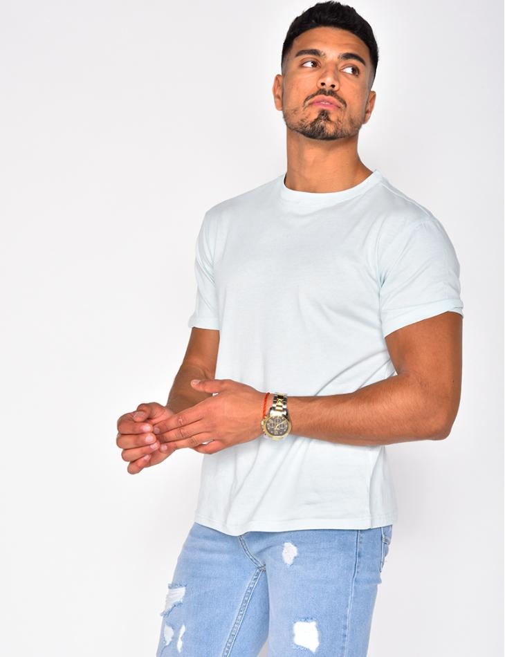 T-shirt basic col rond
