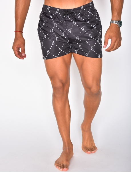 Swimming Trunks with Pattern