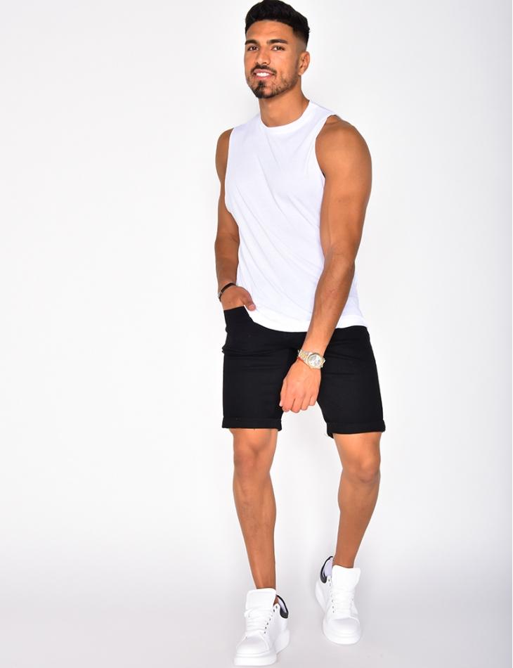 T-shirt basic sans manches