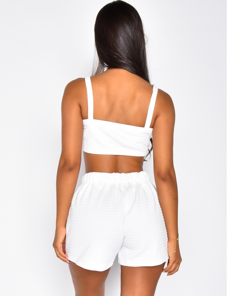 Bra and Shorts Co-ord