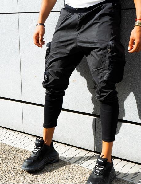 Pantalon homme à poches