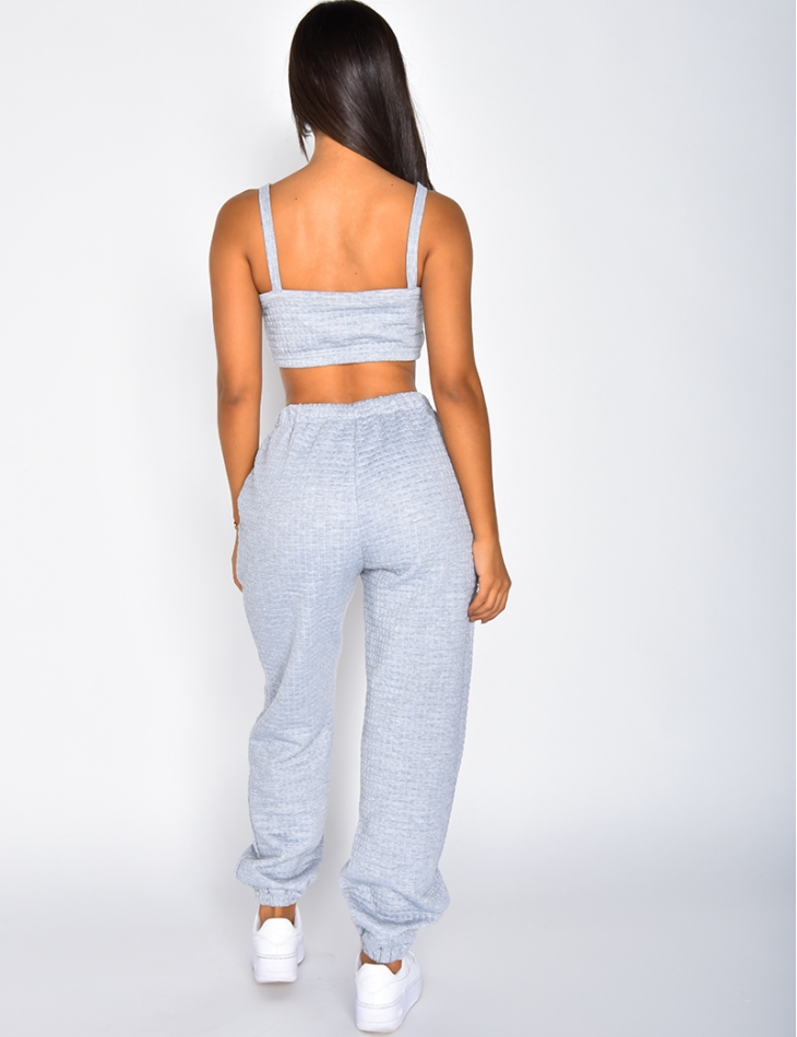 Bralette and Jogging Bottoms Co-ord
