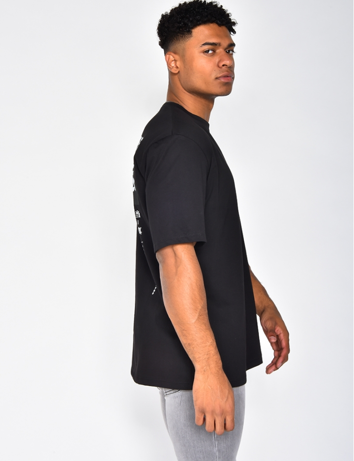 """""""Dealers"""" T-shirt with Graffiti"""