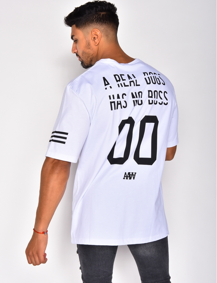 Men's T-shirt with Graffiti