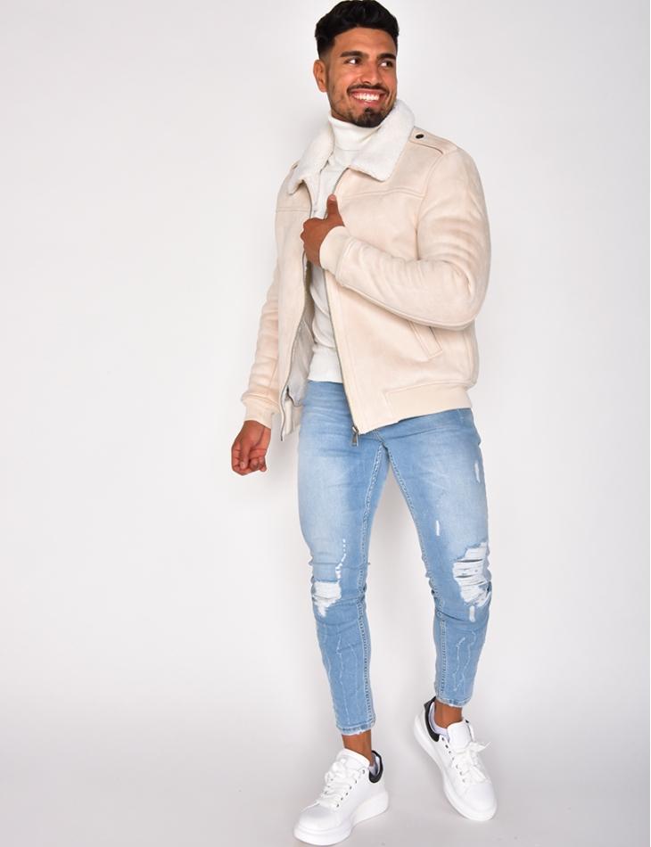 Suedette Lined Jacket