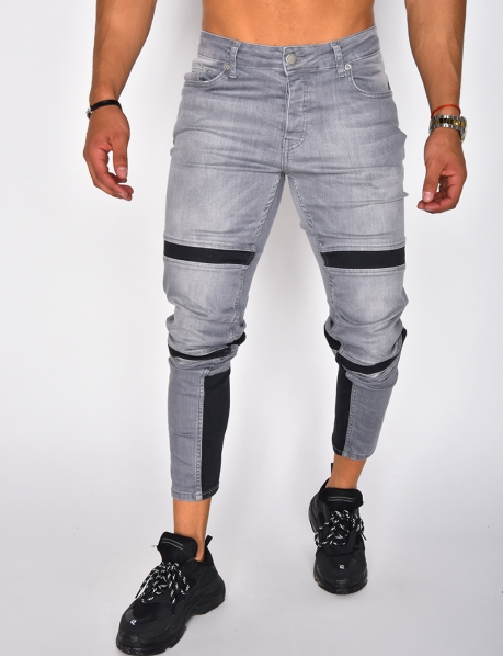 Jeans with Bands