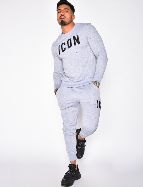 Ensemble sweat et jogging