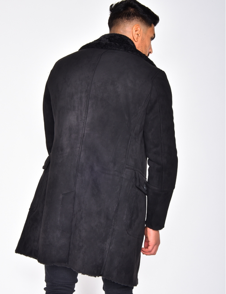 Suedette Lined Coat