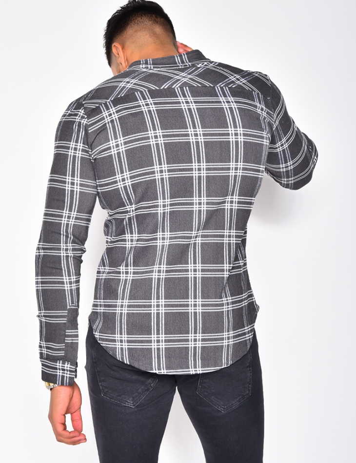 Checked Long Sleeved Shirt