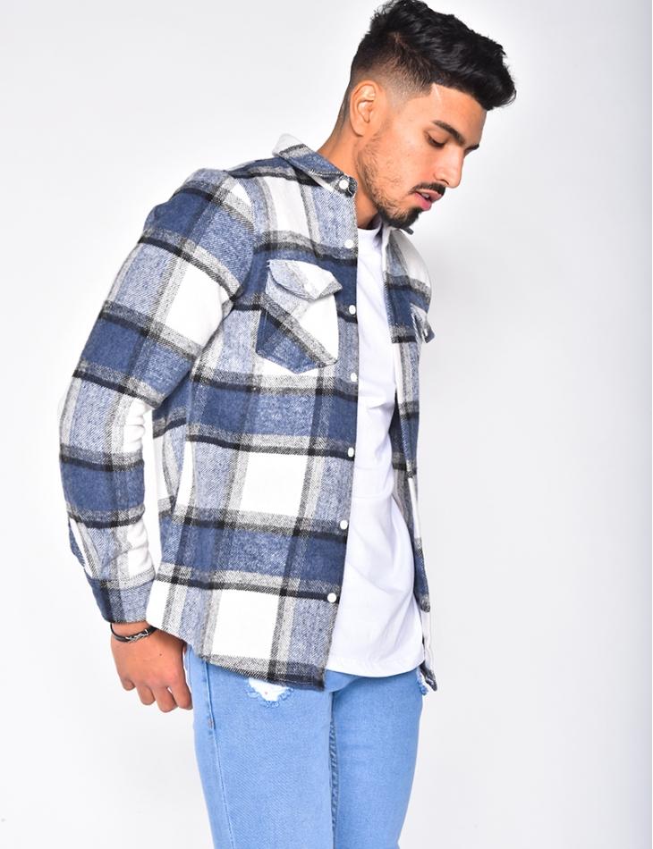 Chemise à carreaux