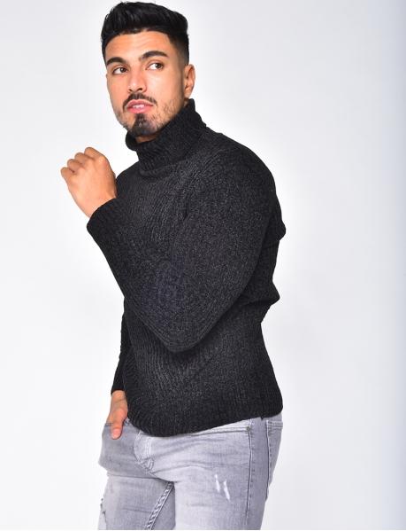 Kuschelig weicher Pullover mit Rollkragen