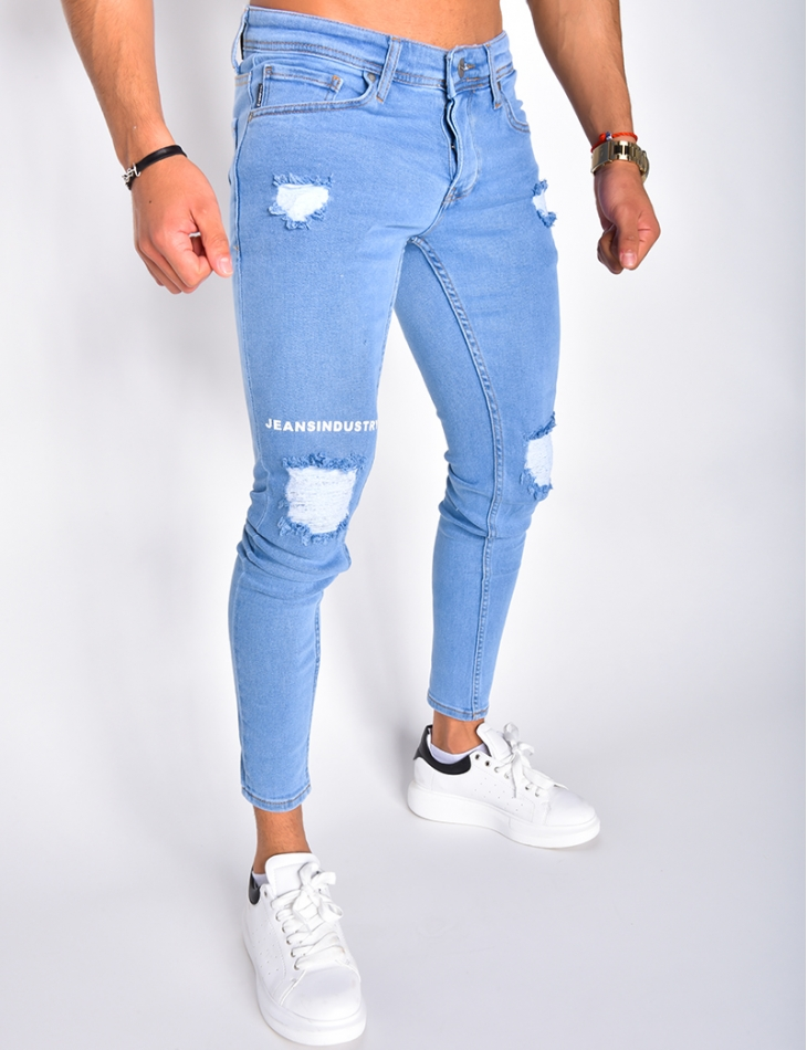 Jeans Industry Ripped Skinny Jeans