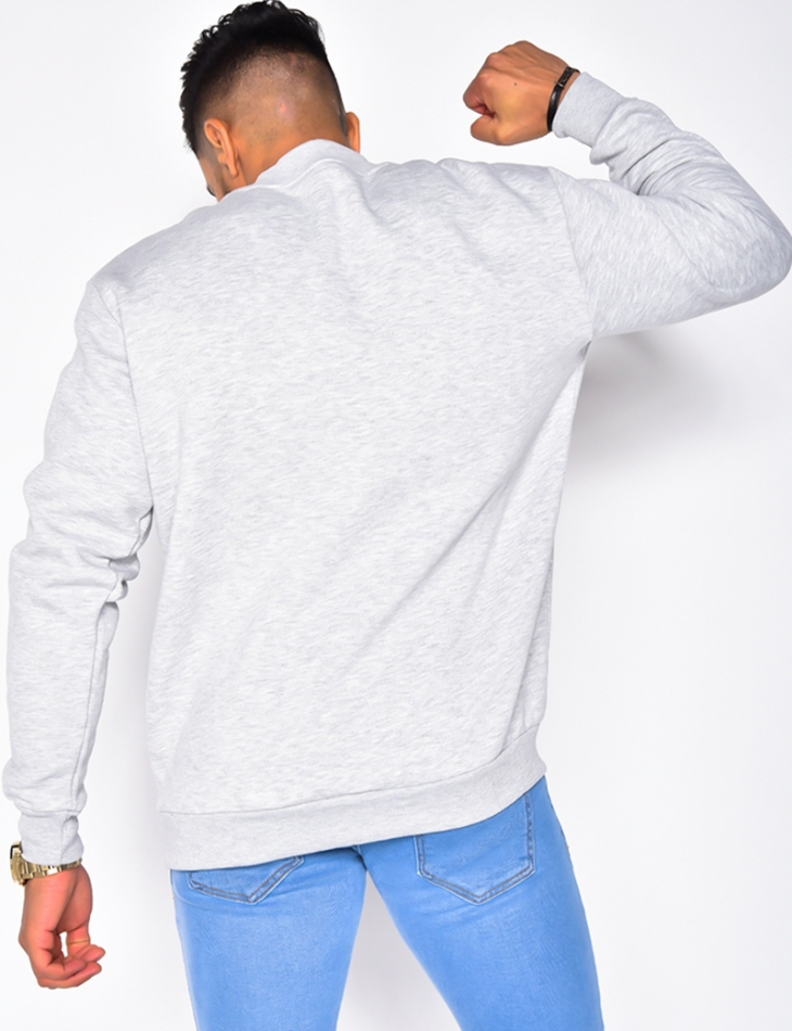 Sweat col montant