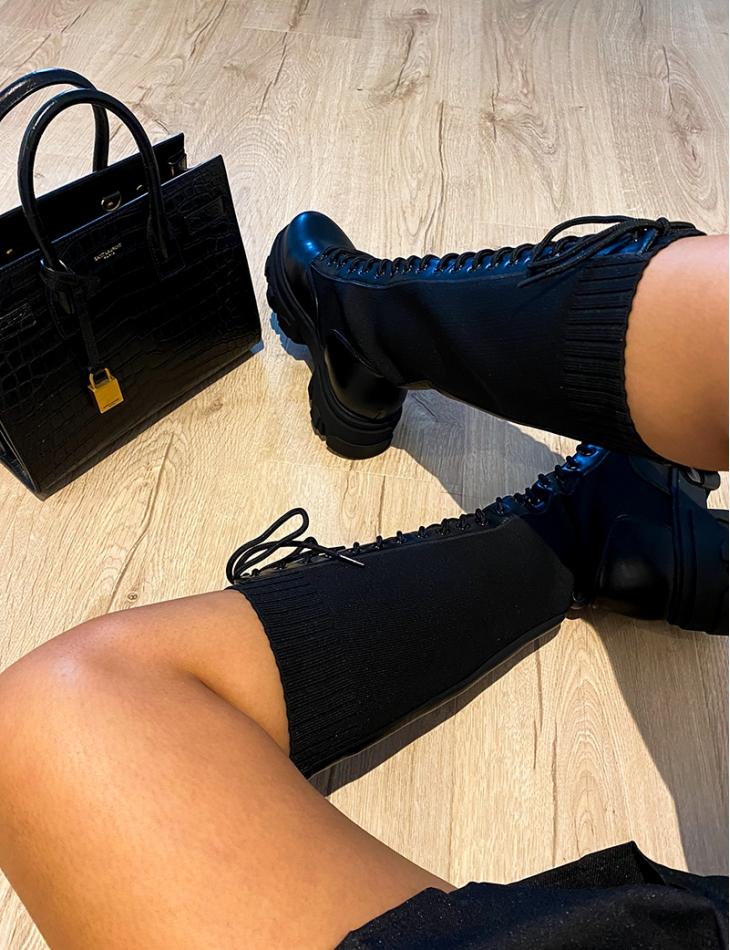 Bottes chaussettes