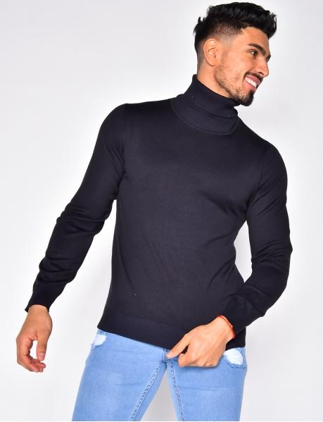 Pullover mit Rollkragen