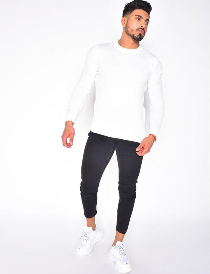 Jeans basic noir