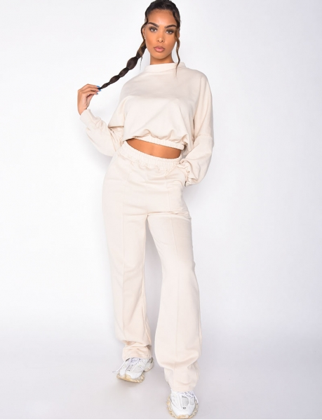 Sweatshirt and Jogging Bottoms Set