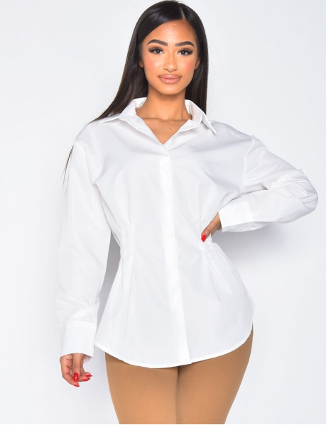Chemise ajustée à la taille