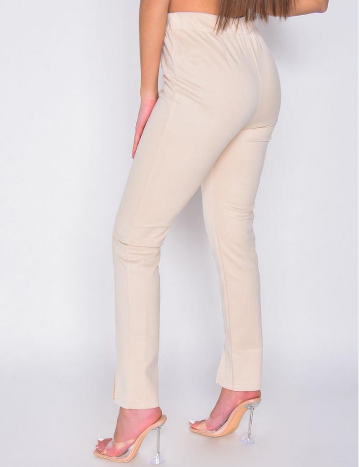 Pantalon en suédine