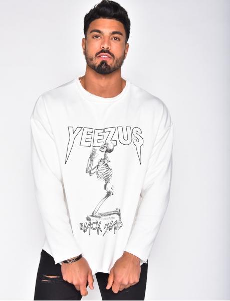 """Sweatshirt """"Yeezus"""""""
