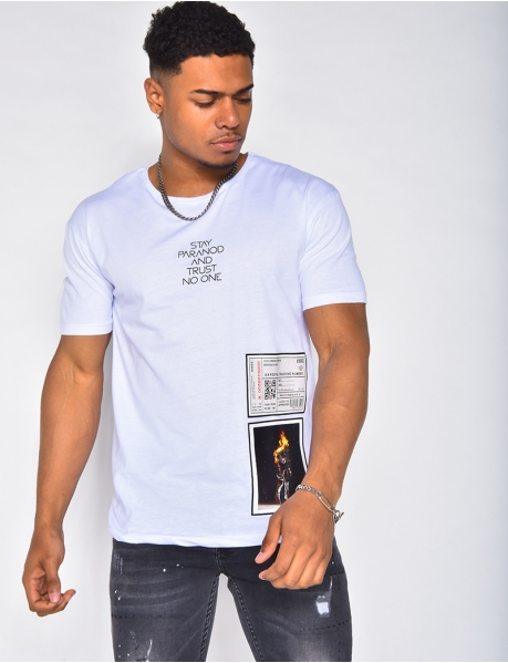 T-shirt à patch