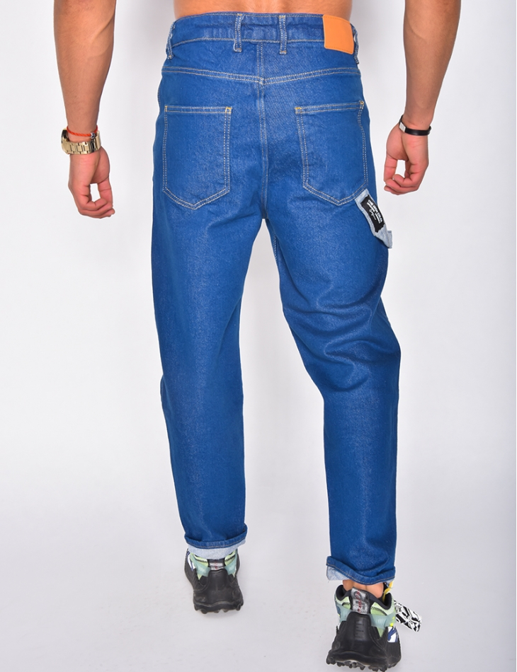 Jeans large homme