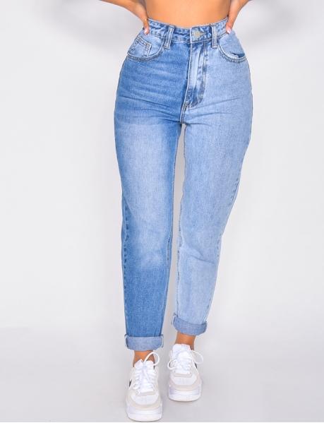 Jeans bi-color