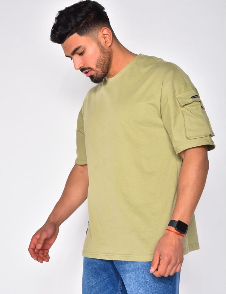 T-shirt avec  poche sur la manche
