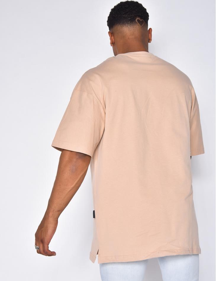 T-shirt homme à poches