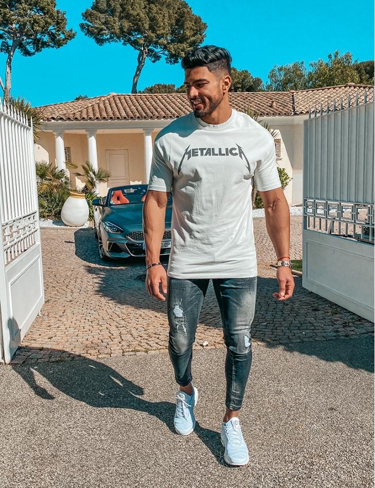 """T-shirt """"METALLICA"""""""