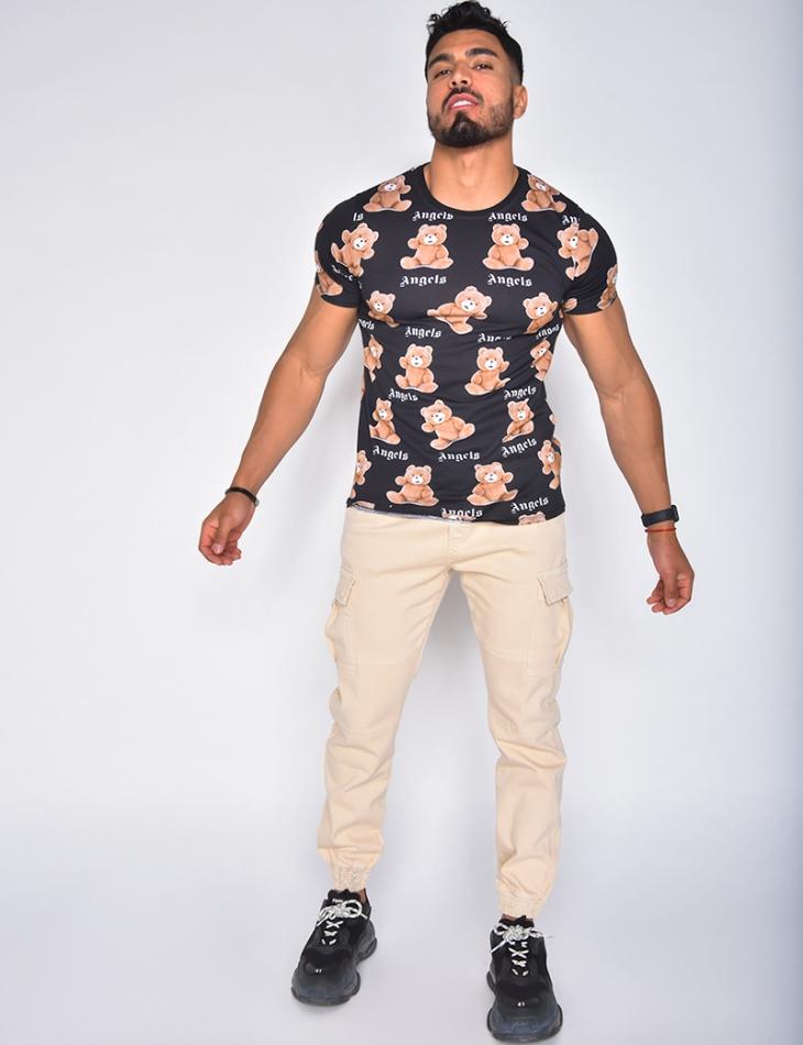 "T-shirt motifs ourson ""Angels"""