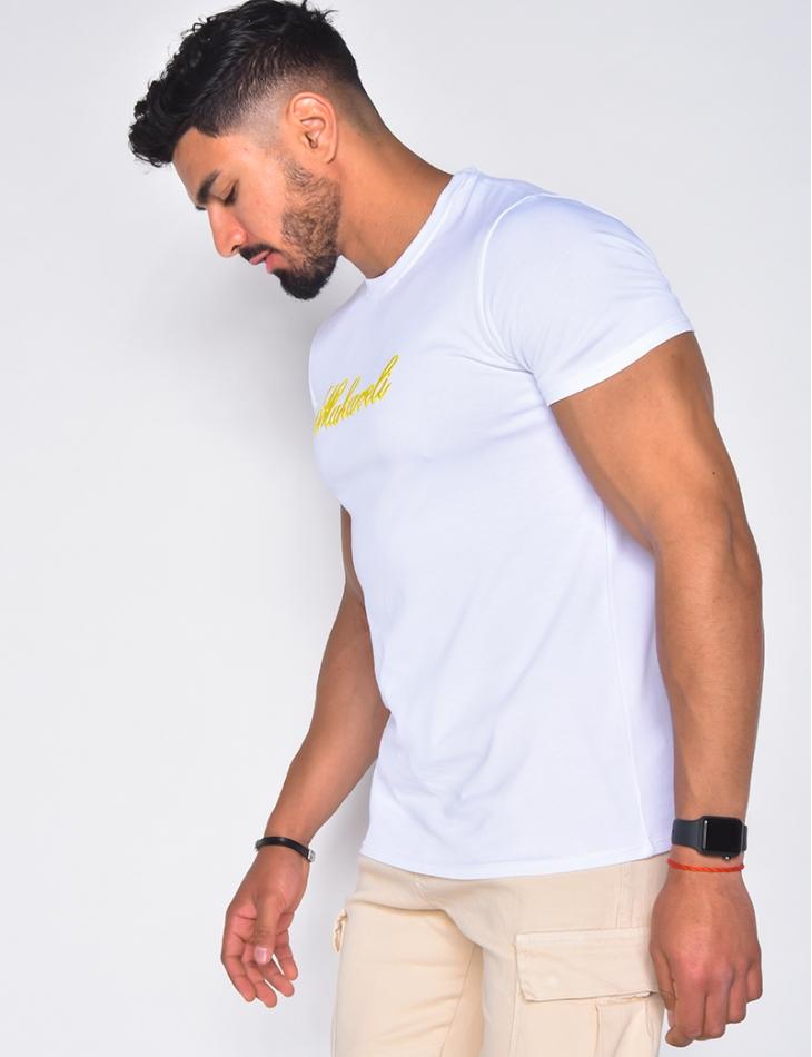 "T-shirt brodé  ""Makaveli"""