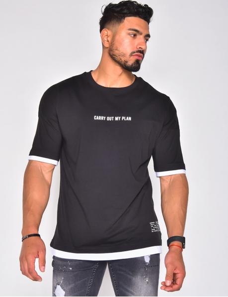 T-shirt à phrase