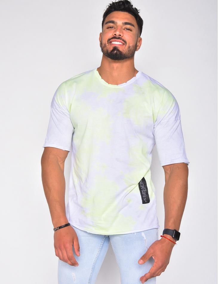 T-shirt à tâches