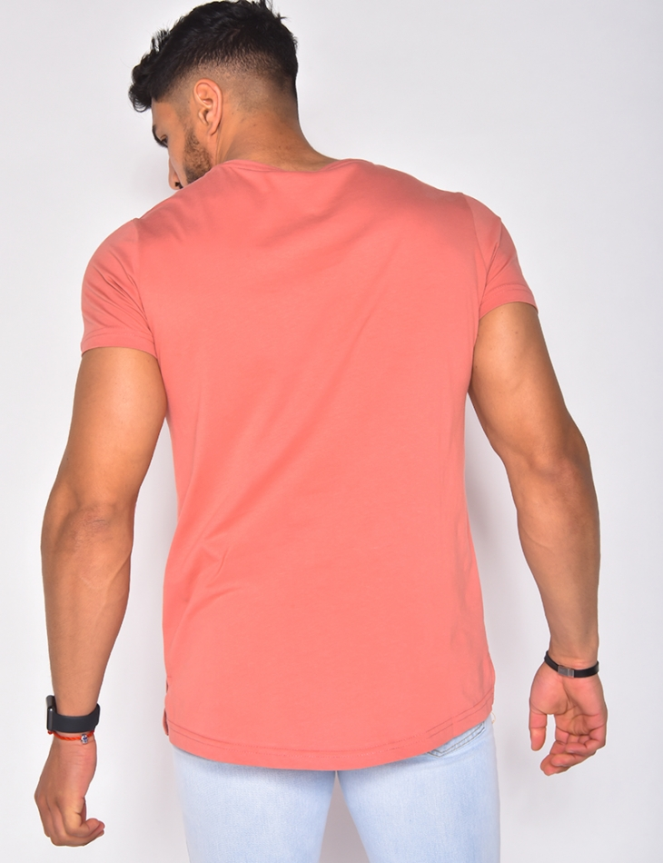 T-shirt homme uni basic