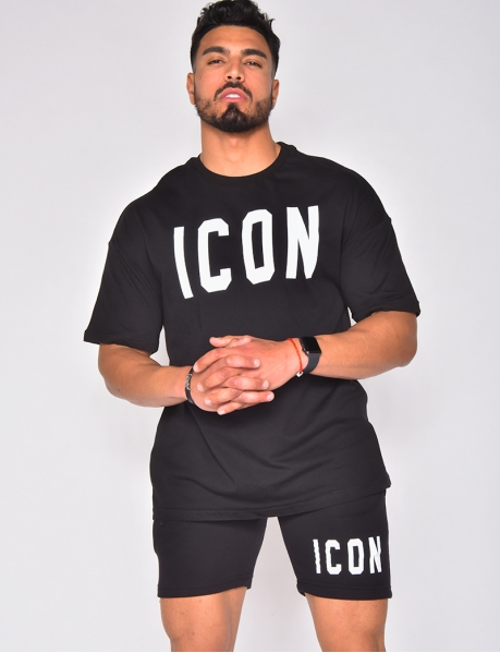 "Ensemble short et t-shirt ""Icon"""