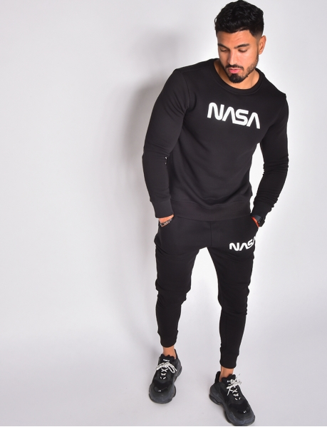 """NASA"" Sweatshirt and Jogging Bottoms Set"