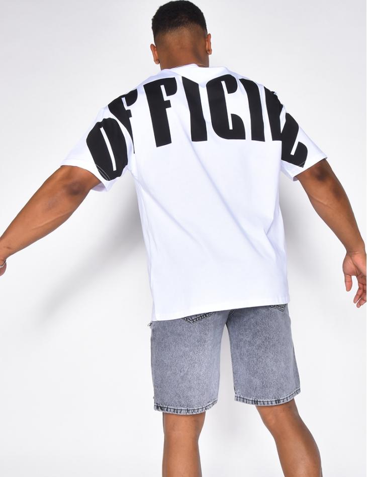 """T-shirt """"OFFICIAL"""""""